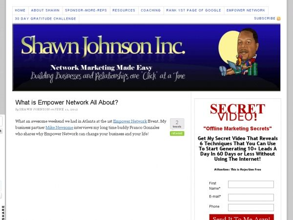 Empower Network Revealed How To Profit From Online Marketing