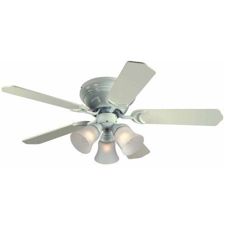 Westinghouse 7850800 42 Inch White 5 Blade Reversible Ceiling Fan