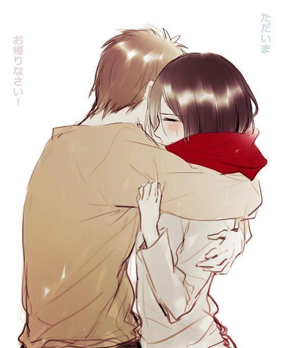 Mặc kệ tác giả nhẫn tâm, fan Attack on Titan tự vẽ ra một tương lai màu hồng nơi Eren và Mikasa bên nhau hạnh phúc - Ảnh 14.