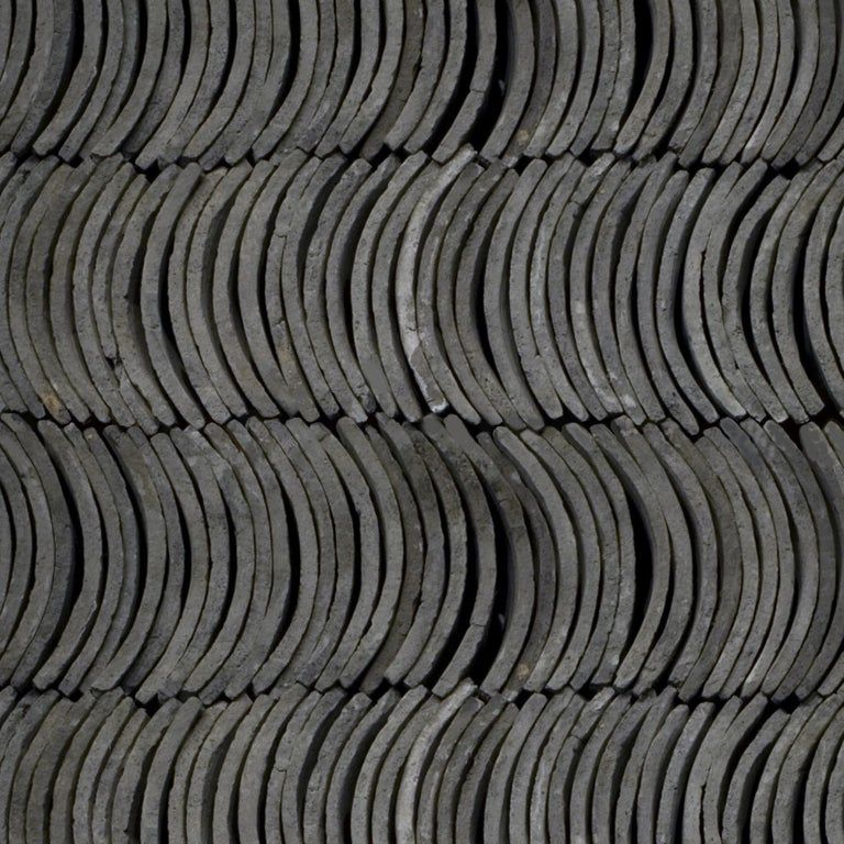 Vintage 19th Century Chinese Roof Tiles Roof Tiles Ceramic Roof Tiles Tiles For Sale
