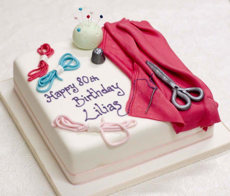 Sewing Cake, Cake
