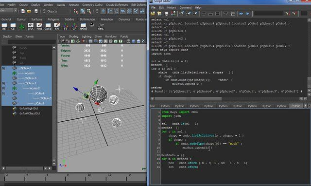 MAYA TUTORIAL : the power of python dictonary | rigging