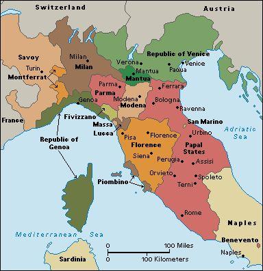 History Italy Map Historical Maps History