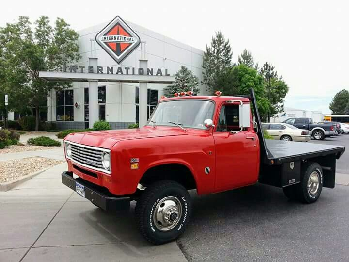 Ih 1 Ton International Harvester Truck International Pickup
