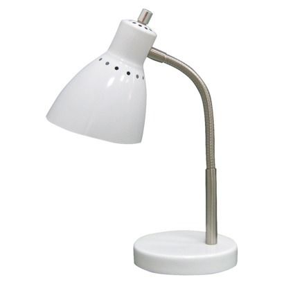 Room Essentials Gooseneck Desk Lamp 9 99 At Target Found Using The Free Shopgenius App Get Yours Today And Save On Ev Desk Lamp White Desk Lamps Lamp