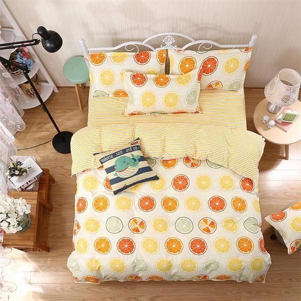 luxury Home textiles bedclothes snowflake Stripe 4pc/ 3pc christmas