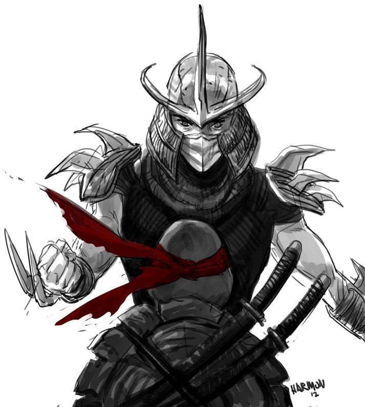 #TMNT Fan Art - Shredder Showdown by Nanashi