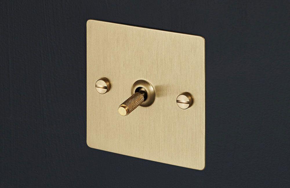 klassisch lichtschalter und dimmer von buster punch. Black Bedroom Furniture Sets. Home Design Ideas