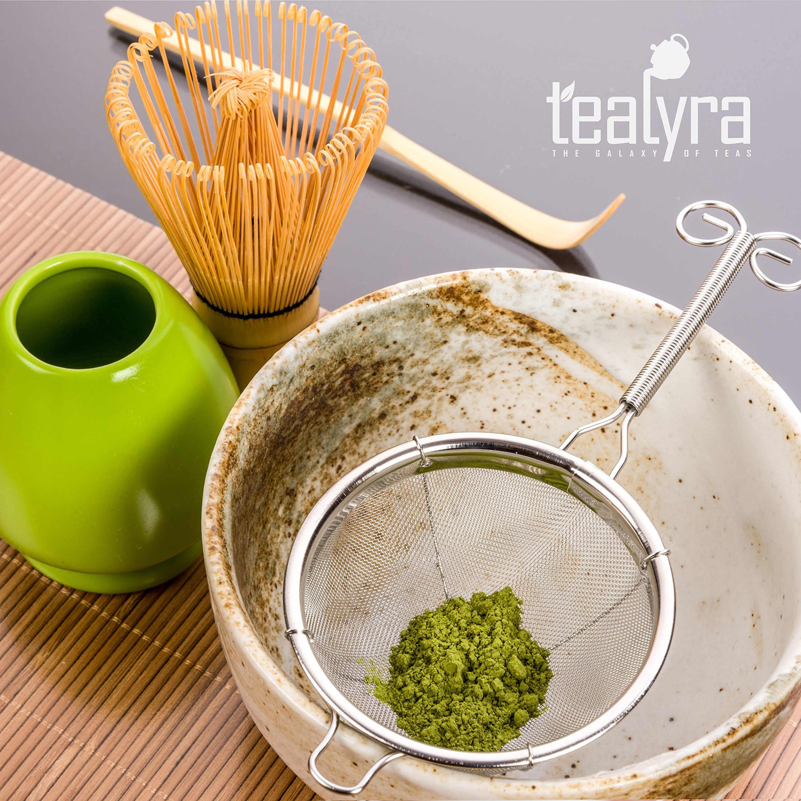 Tealyra Matcha Tea Ceremony Start Up Kit Complete Matcha Green Tea