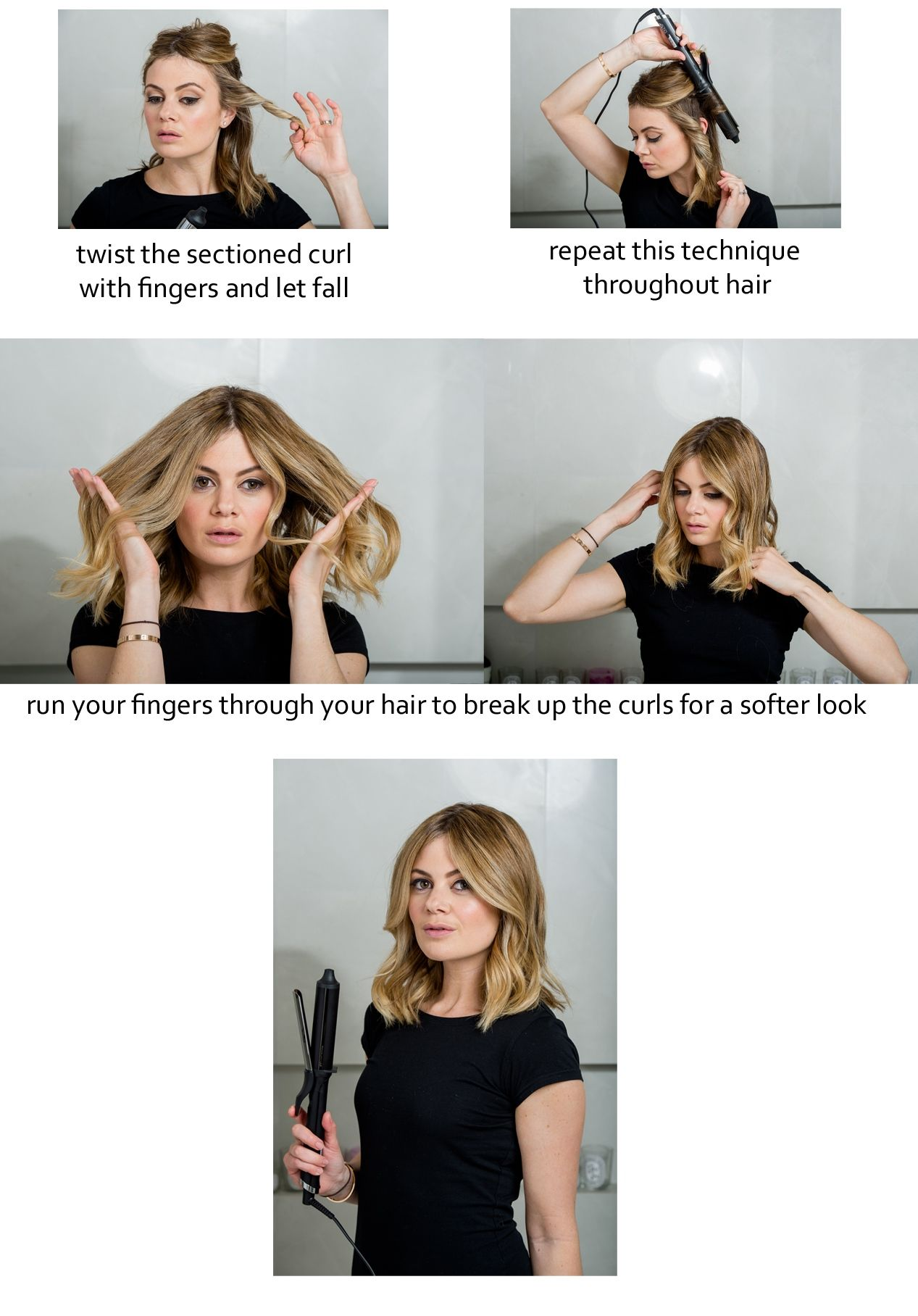 How To Do Easy Waves With Ghd Hair Style Celebrity Hair How To