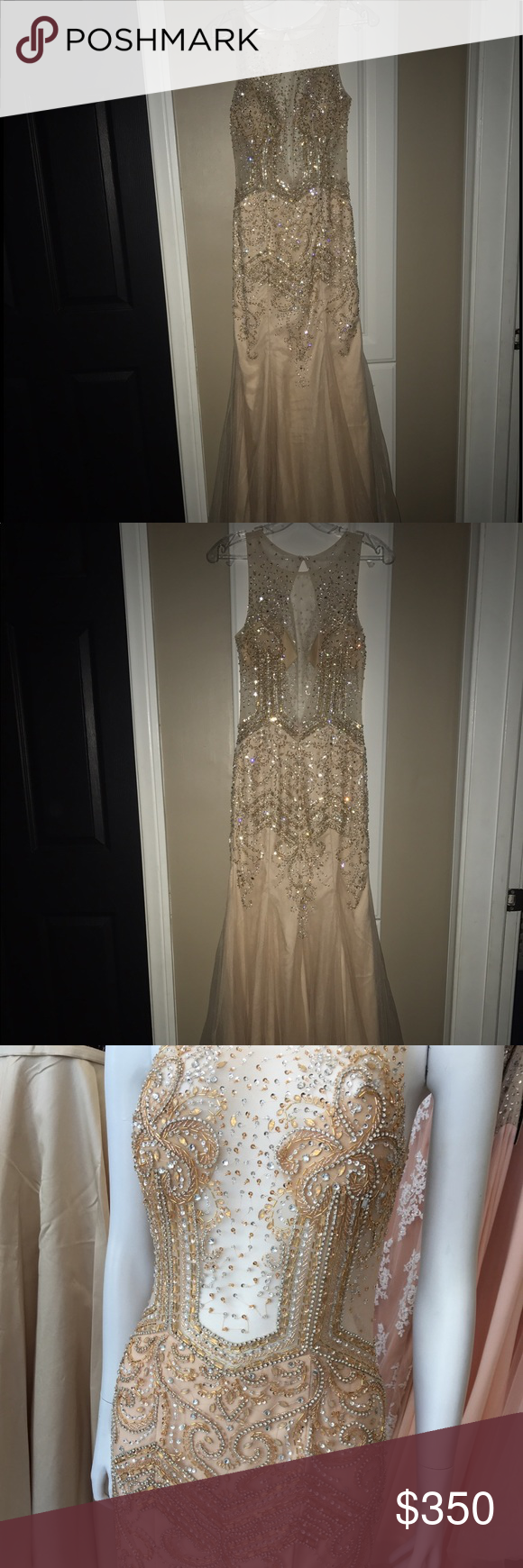 Prom Dress 250 or best offer Champagne prom dress