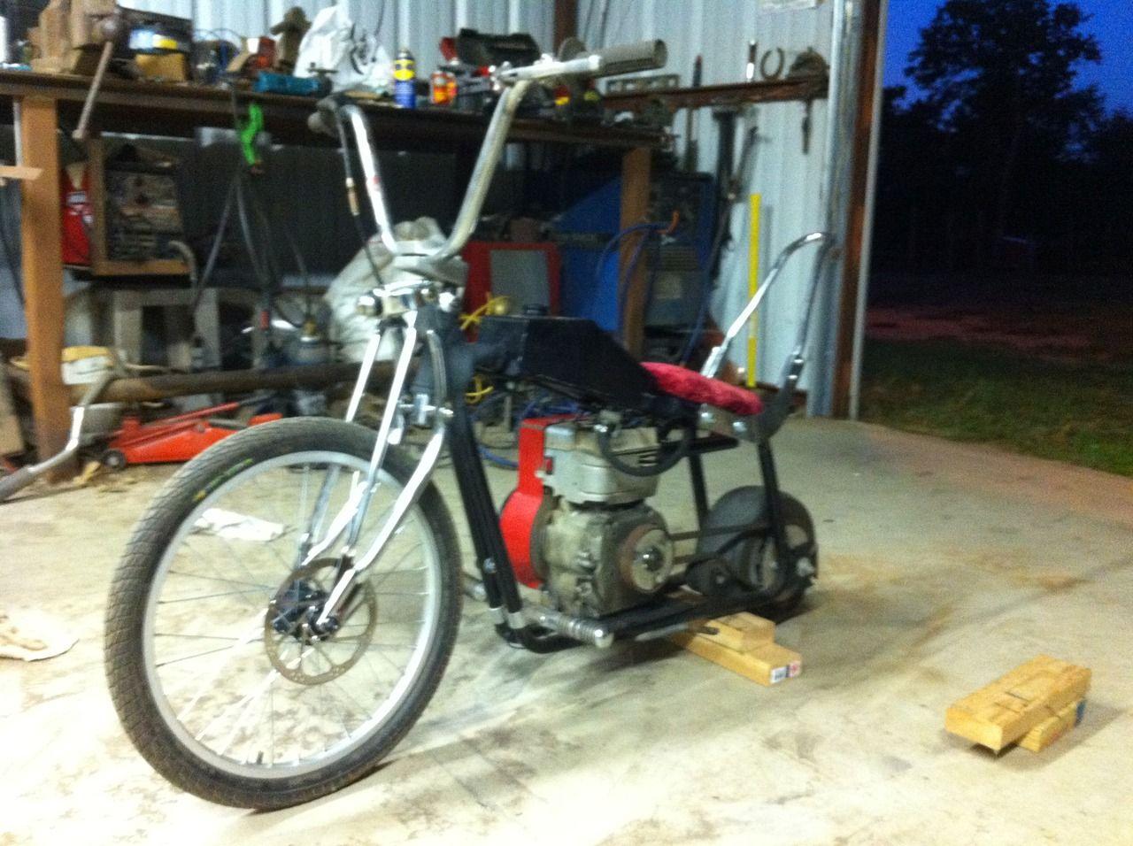 Cool Custom Mini Bike Mini Bikes Go Karts Pinterest Mini