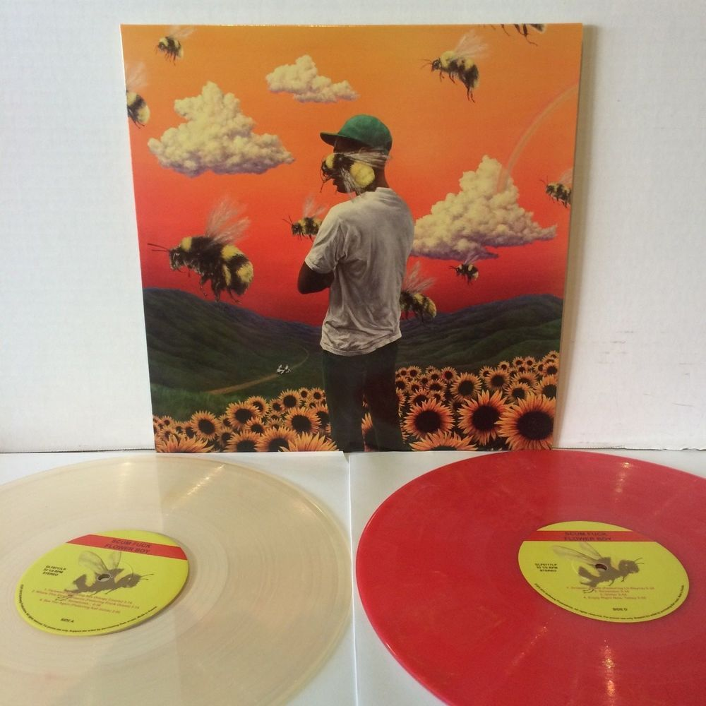Tyler The Creator Scum Flower Boy Double Album Colored