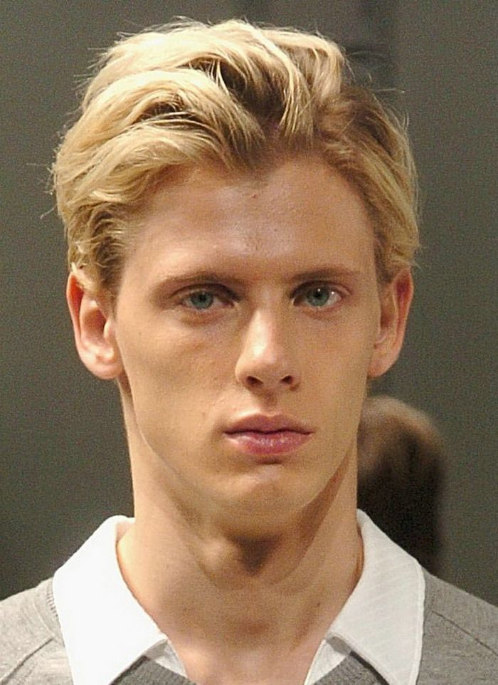 Blonde Medium Length Hairstyles For Men 2014  Long Mens