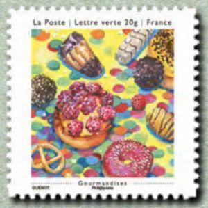 Sello: Gourmandises (Francia) (The simple bonheurs) Yt:FR A909,Mi:FR 5715,Sn:FR 4508