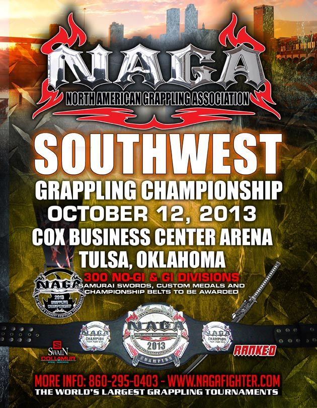 at the North American Grappling Association (NAGA) Southwest