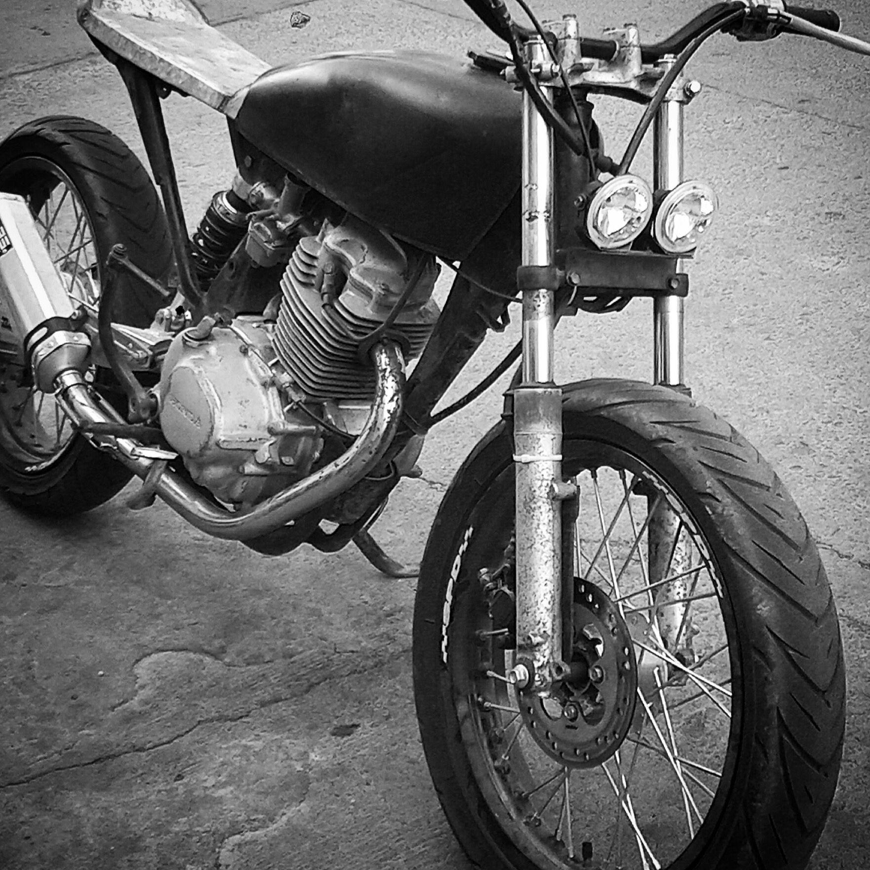 Honda tmx 155 street tracker Hybrid Bikes, Cafe Bike, Street Tracker, Bike  Parts