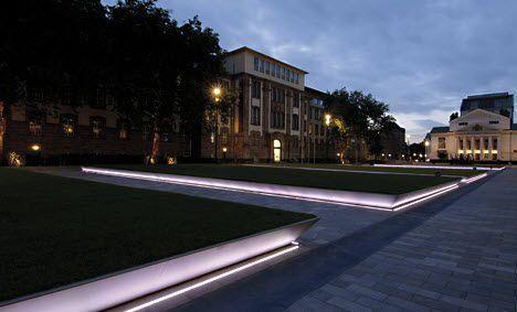 Casa moderna roma italy faro per esterno lighting