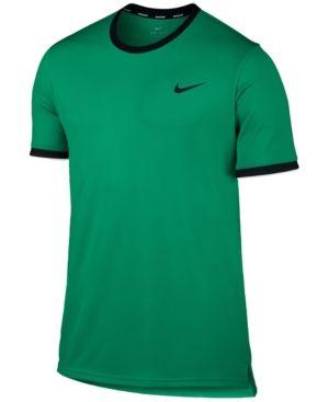 a6bb2cba5d Nike Men s Court Dry Tennis T-Shirt - Green 2XL
