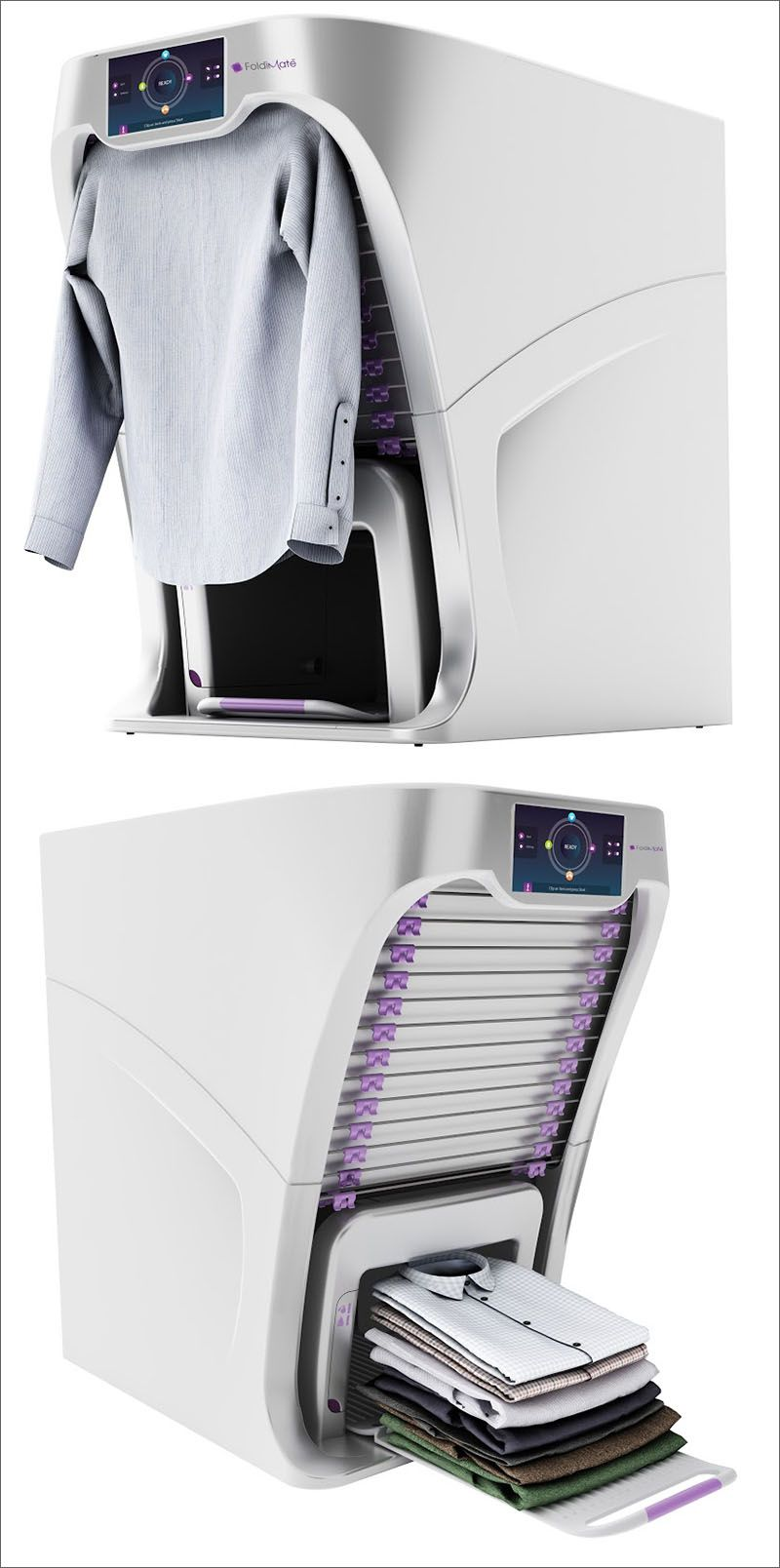 See How This Machine Will Fold Your Laundry So You Don't Have To