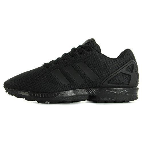 ZX Flux, Baskets Basses Mixte Enfant, Noir (Core Black/Core Black/Footwear White), 30 EUadidas