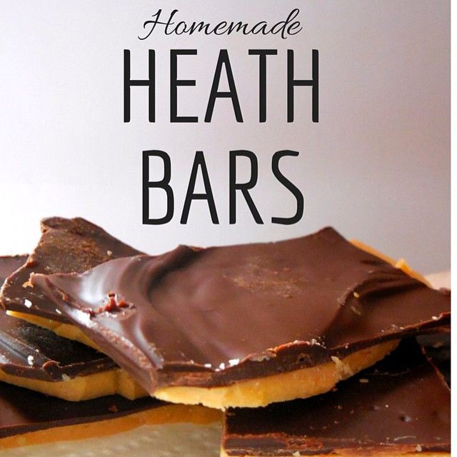 Candy! #Heath #candy #baking #toffee #chocolate