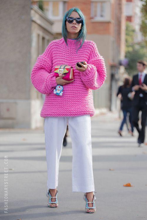 skinnyvogu-e:  X  www.fashionclue.net | Fashion Tumblr Street...