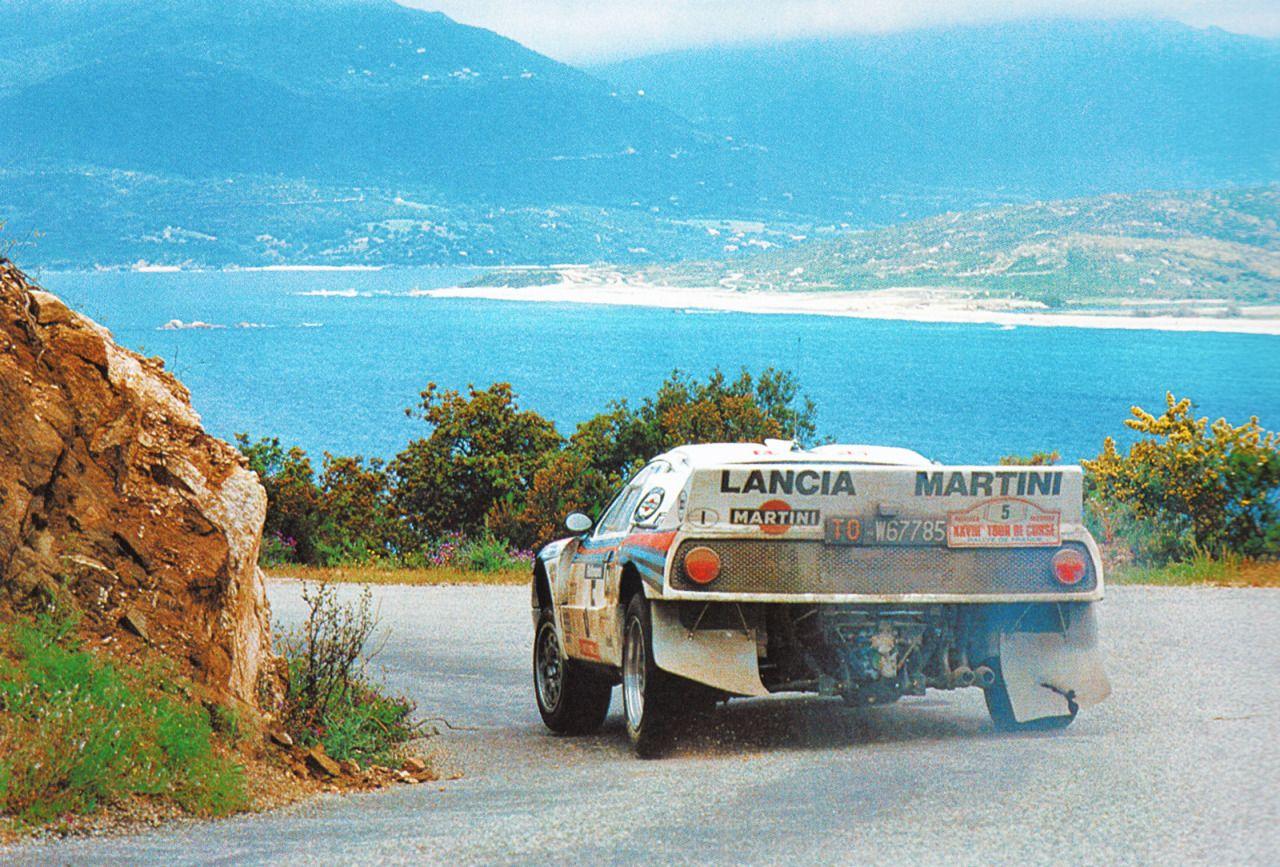 Lancia 037 gr. B al Tour de Corse