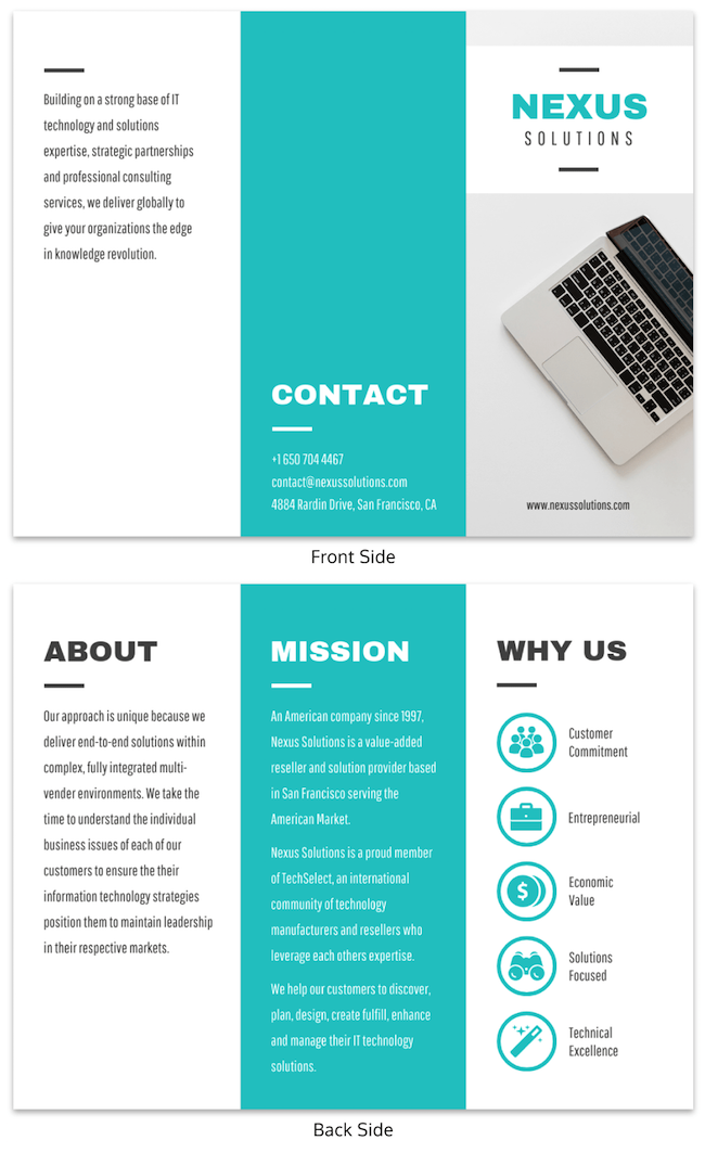 35 marketing brochure examples tips and templates design