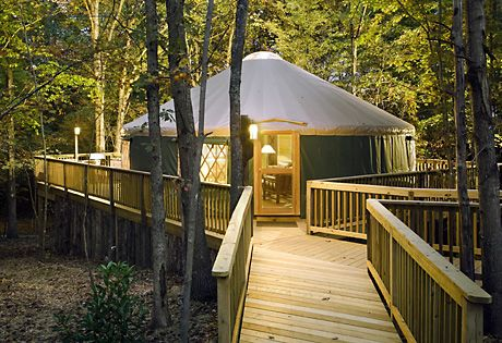 Yurt Camping Adventure | YURTS TO DIE FOR | Yurt camping