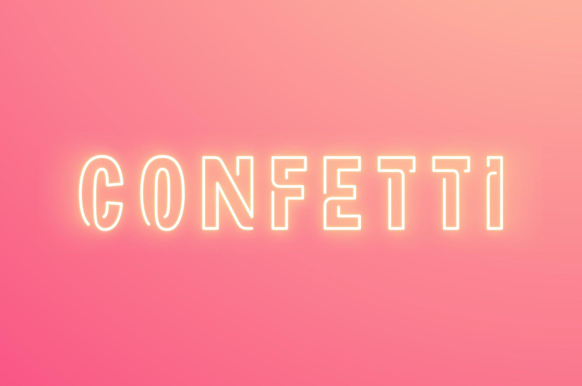 Corporate Logo Confetti