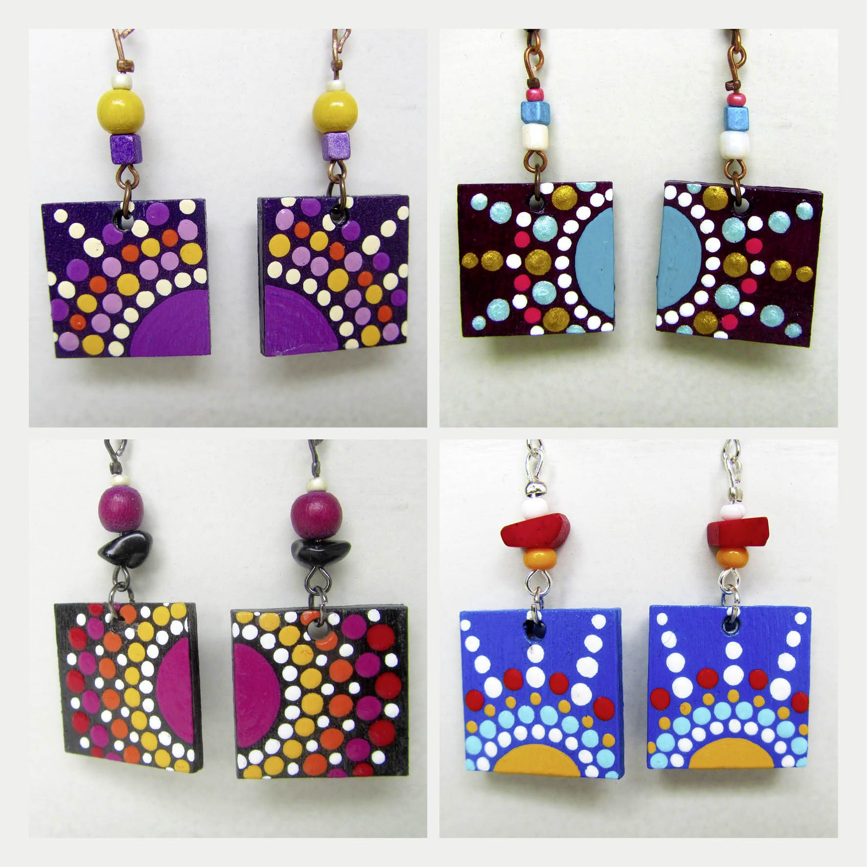 Photo of DIVINE SOUL JEWELRY :: ElfinaTina. ♥ Handmade Art :: EarRings :: Mandala :: Me…