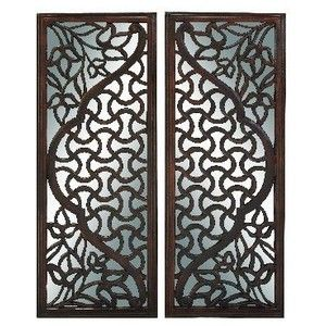 Wooden Wall Art Panels carved wood wall decor. . . elegant wood carved decorative wall
