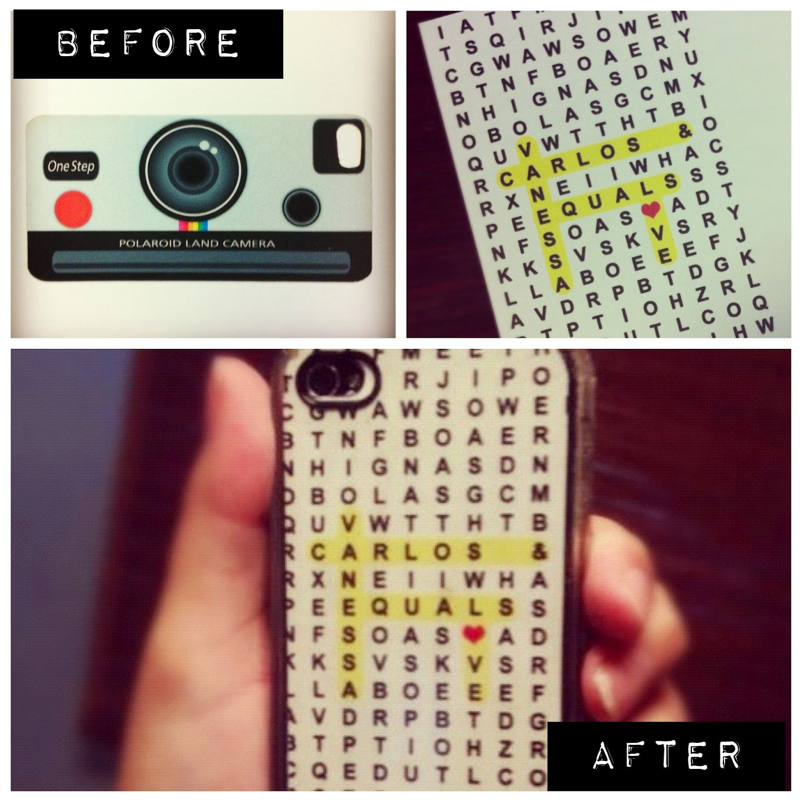 Diy phone case beauty pinterest diy phone cases for Homemade iphone case