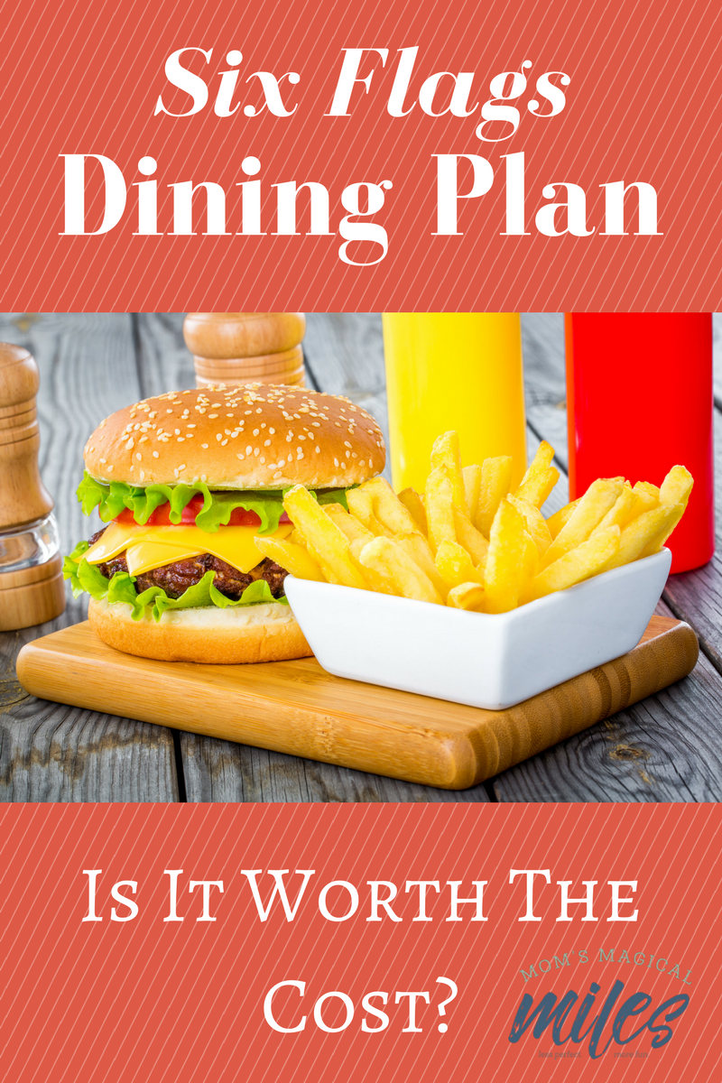 Is The Six Flags Dining Pass Worth It Six Flags Six Flags Season Pass Six Flags America