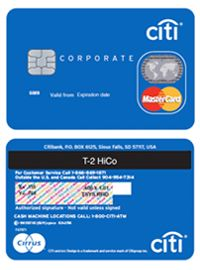 Citibank Credit Card- Corporate Card  BankingDoctor.com  Credit
