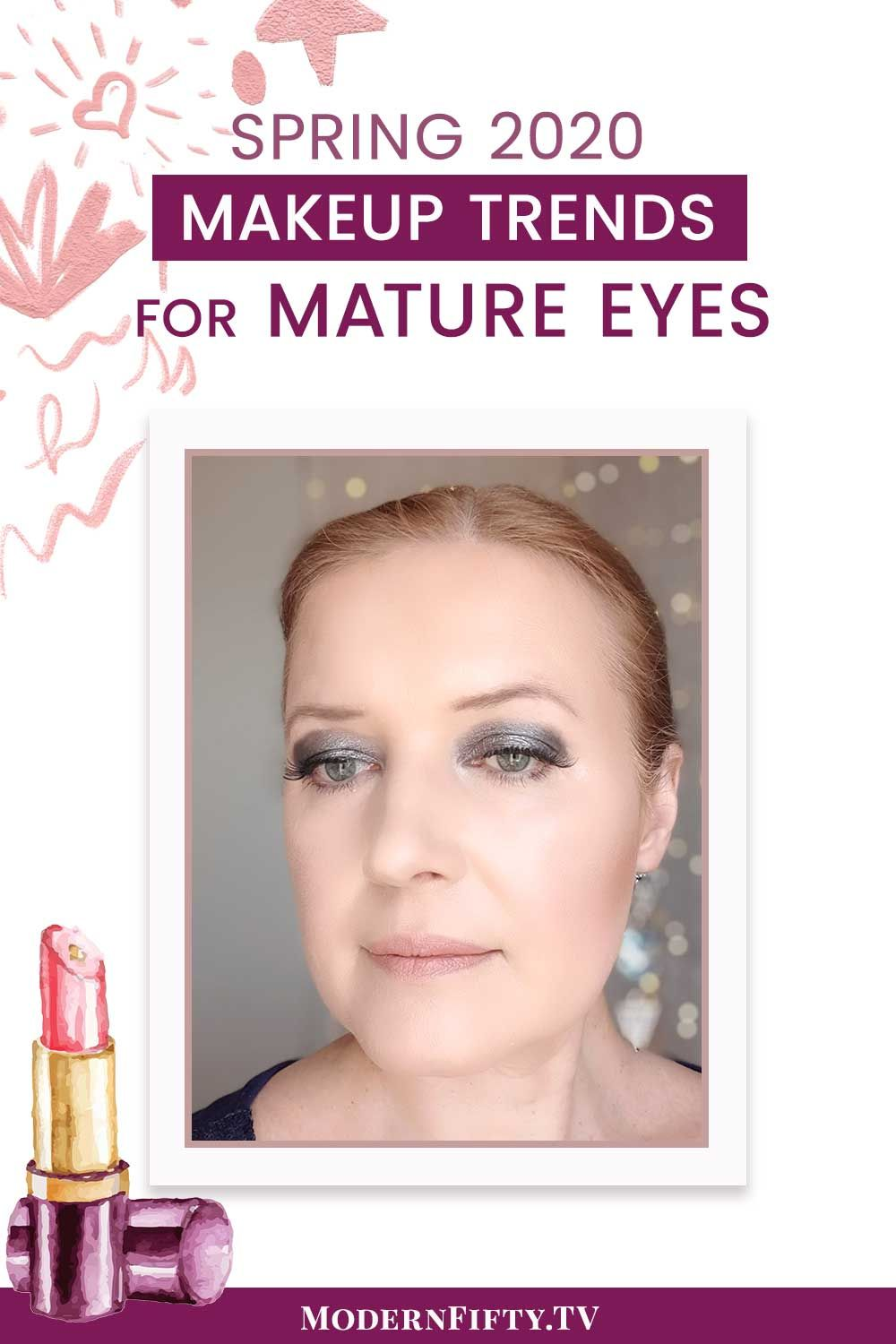 Pin on Makeup Ideas For Women Over 40, Over 50