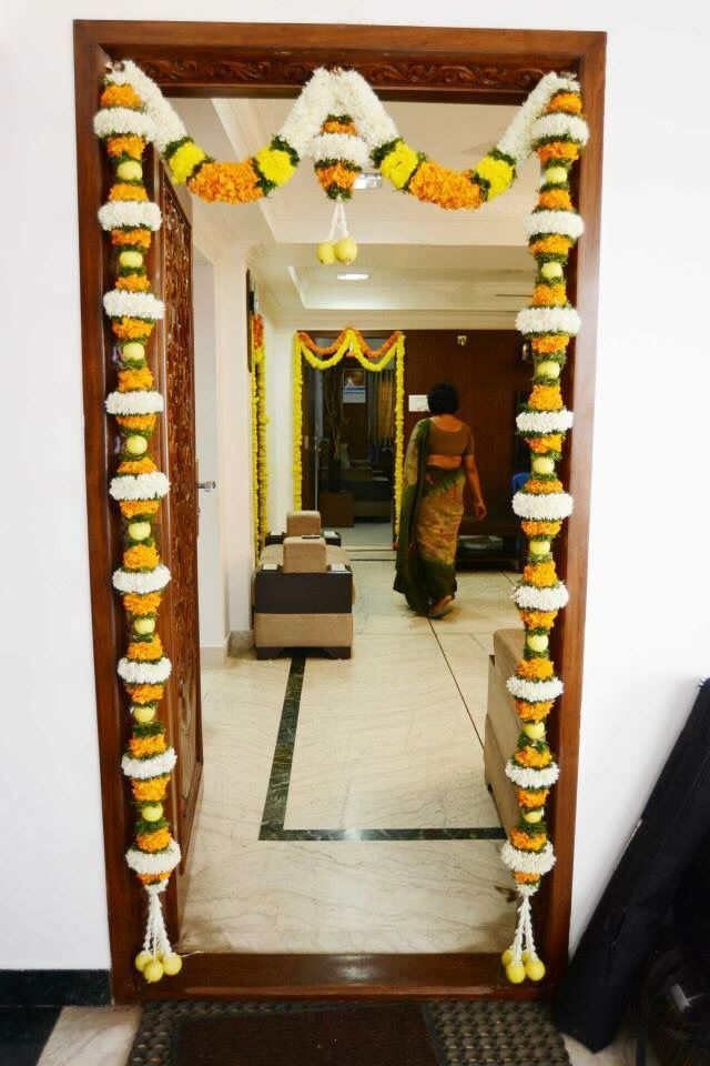 Home Decor Ideas For Diwali Part - 26: 265 Best Decoration For Pooja. Images On Pinterest | Ganapati Decoration,  Festival Decorations And Diwali Decorations