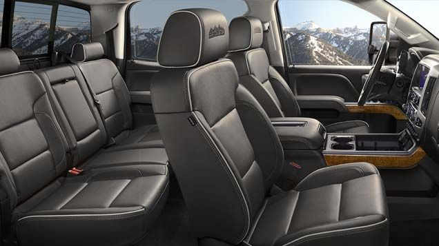 2017 Silverado 3500hd Truck In Leather Trimmed Interior At Chevrolet