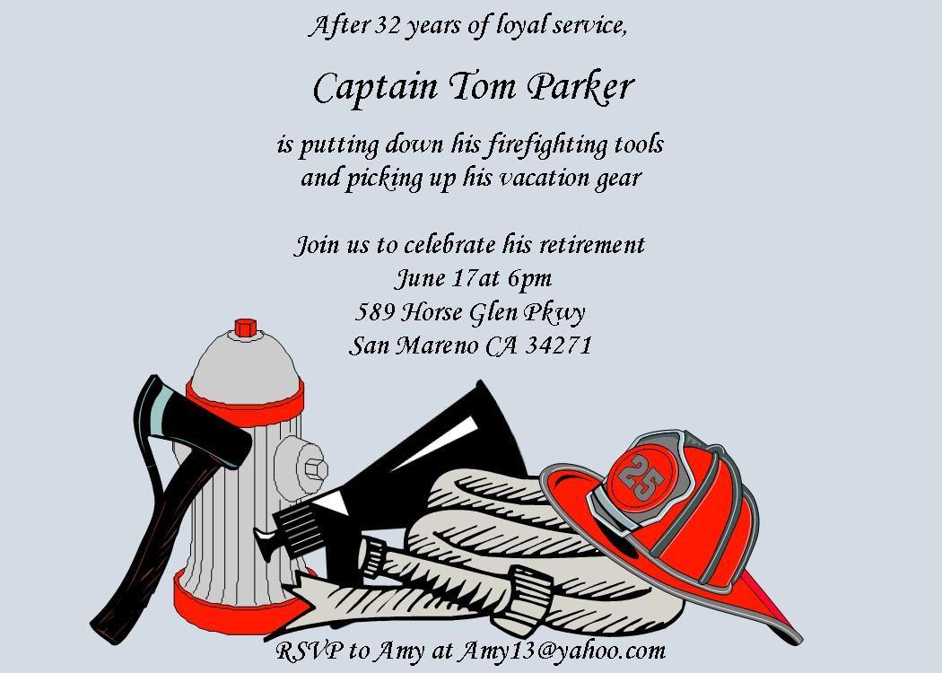 Retirement party invitations New for Spring 2016 custom designed ...