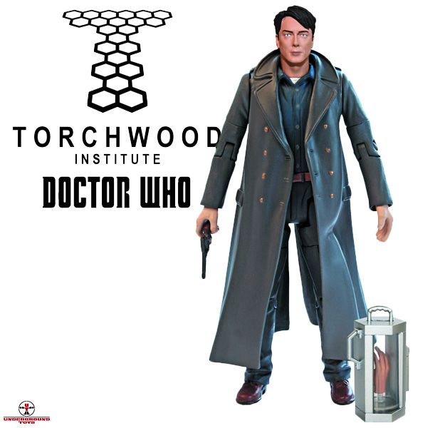 Captain Jack Harkness 5-Inch Doctor Who Action Figure