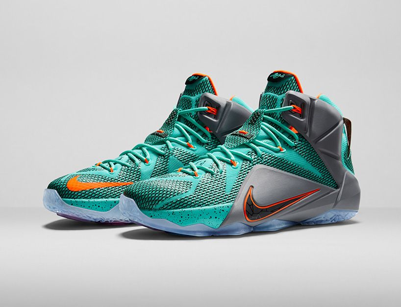 NIKE lebron 12 basketball shoe engineered for explosiveness