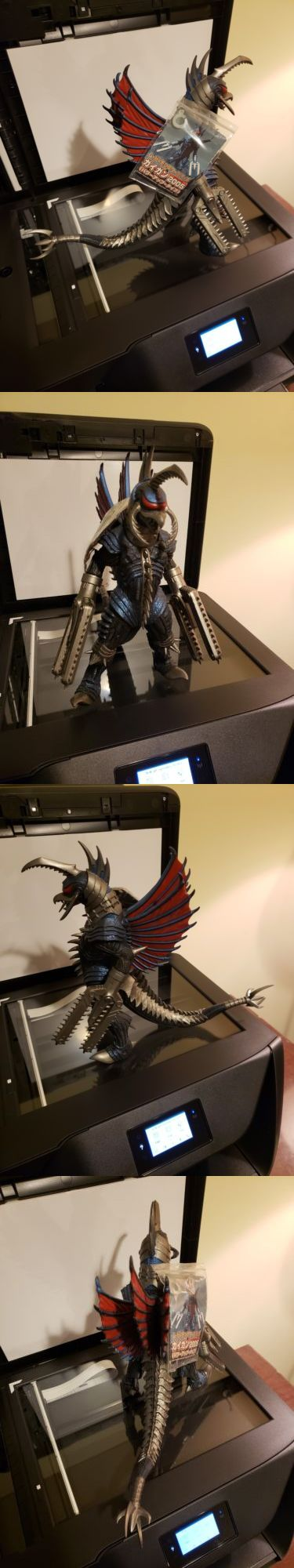 Godzilla 747: Gigan W Chainsaw Bandai Final Wars 2004 With ...