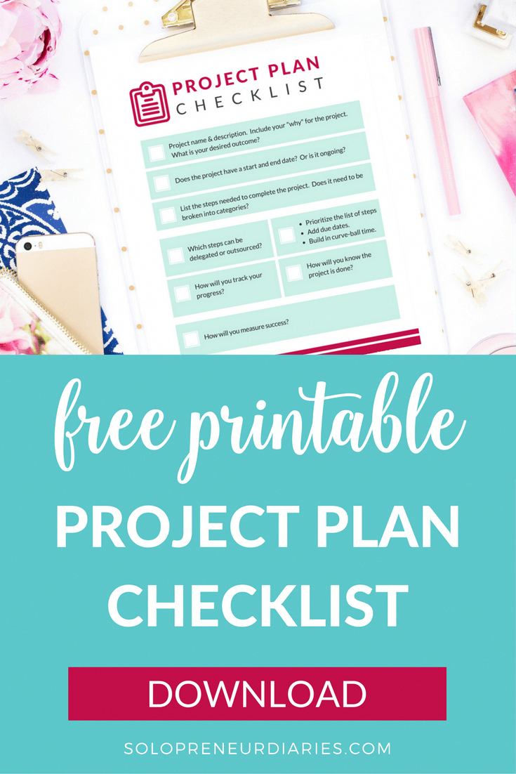 small business project plan