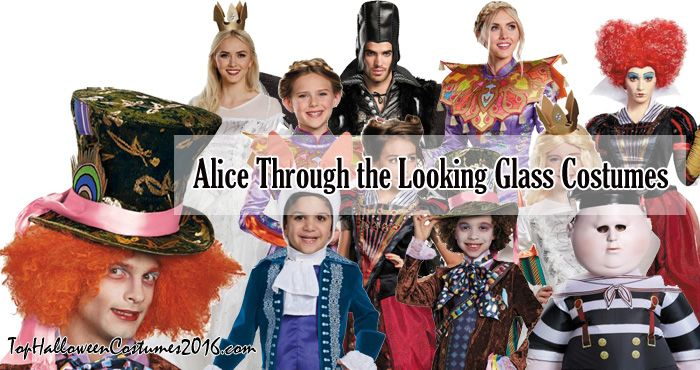 Alice Through The Looking Glass Costumes Top Halloween Costumes