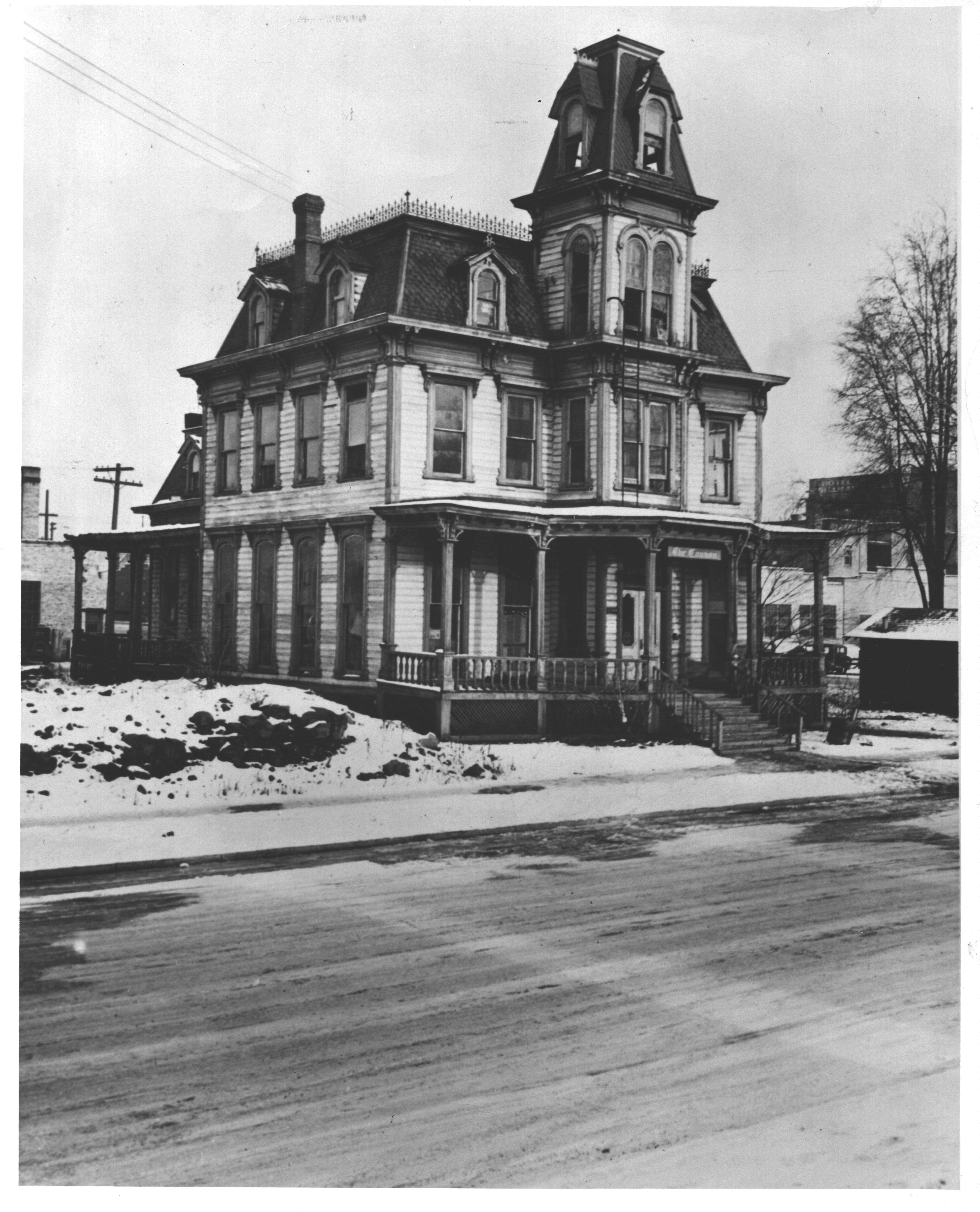 A. Cannon home, Spokane, WA, demolished