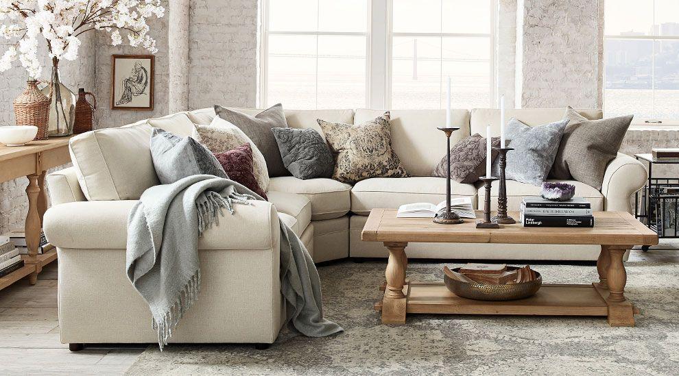 10+ Stunning Pottery Barn Living Room Inspiration