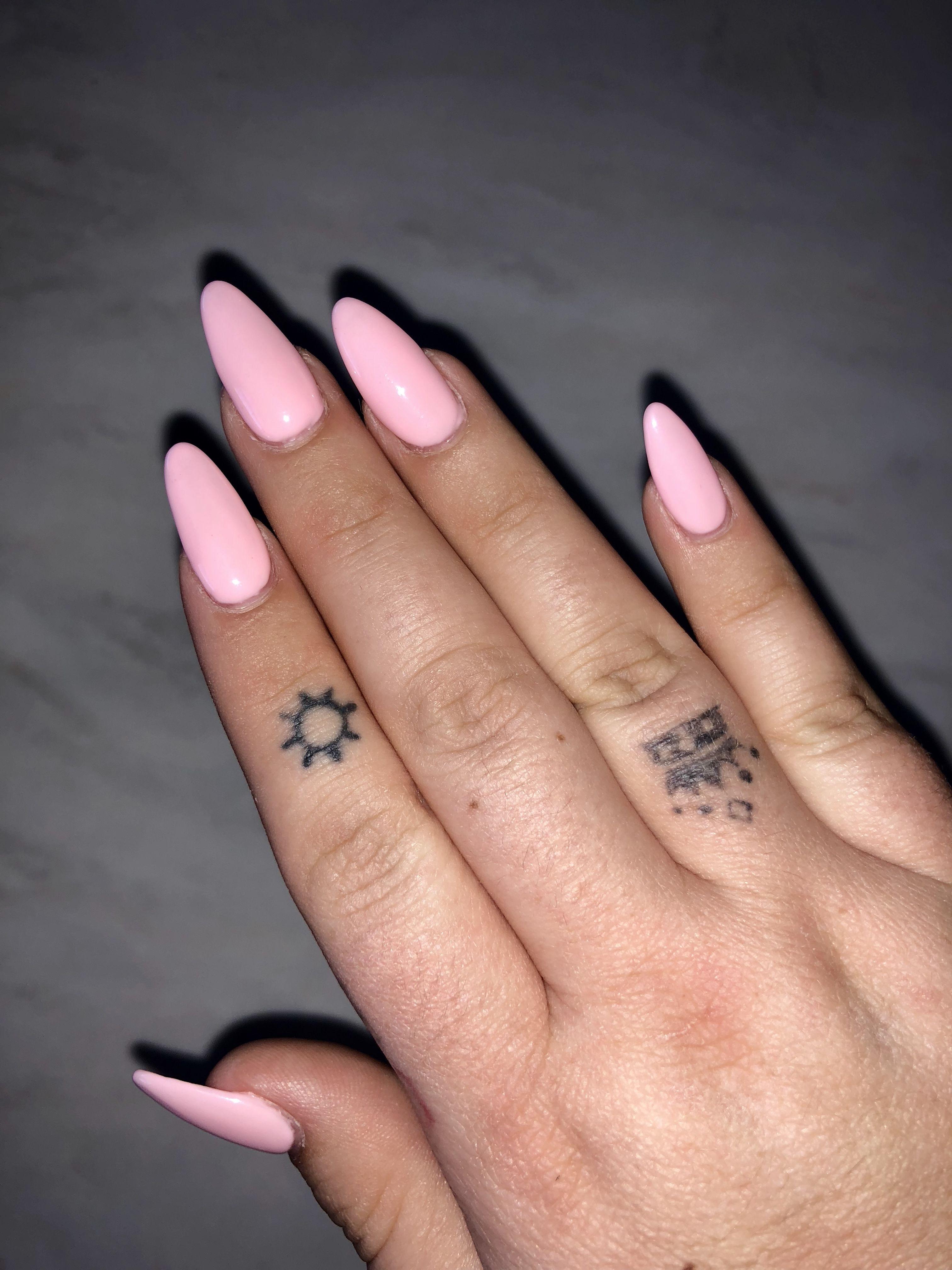 Pastel Pink Almond Nails Pink Acrylic Nails Acrylic Nails Almond Short Acrylic Nails Pastel