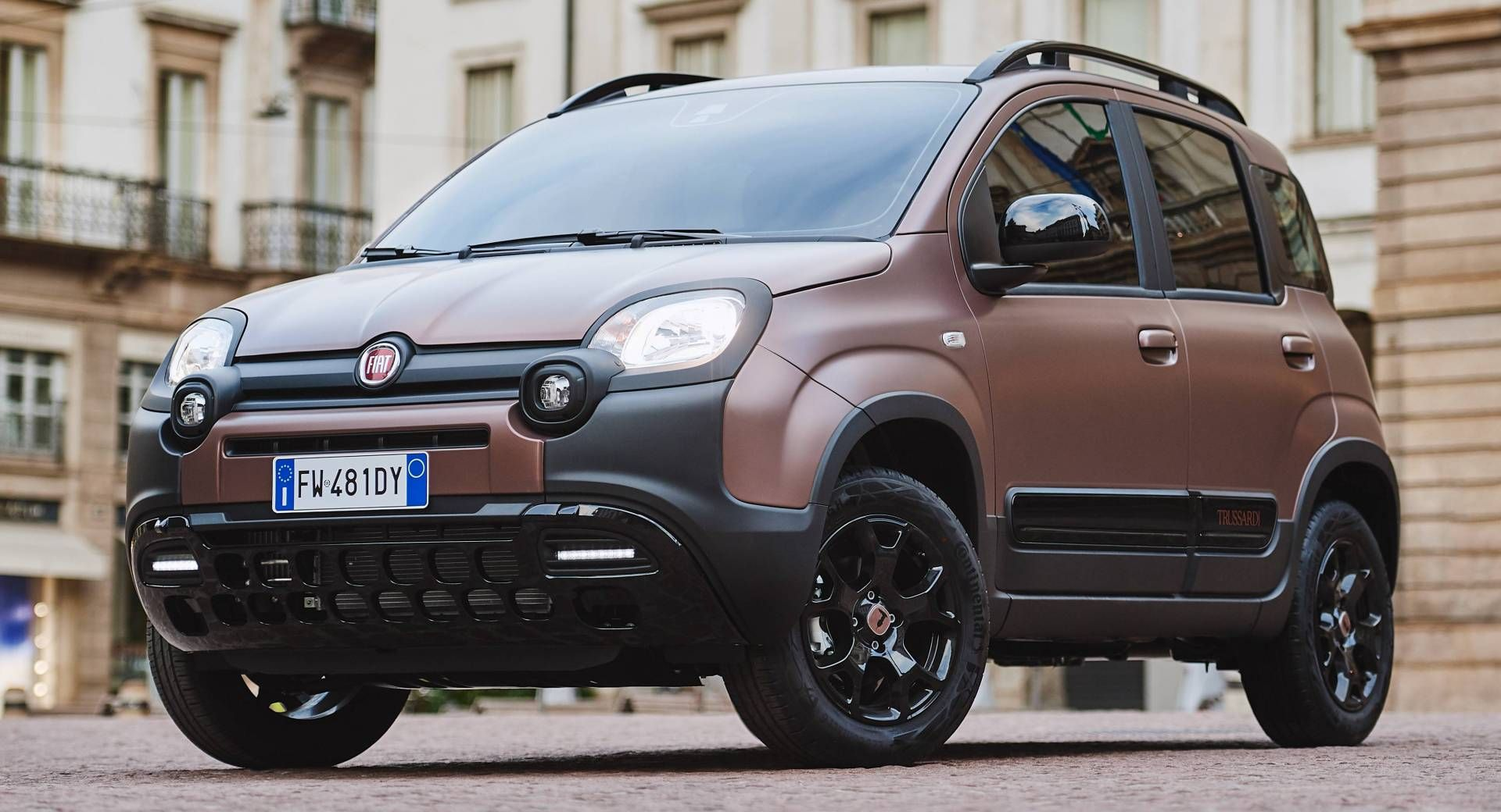 New Panda Trussardi Is The First Luxury Version Of Fiat S City Car