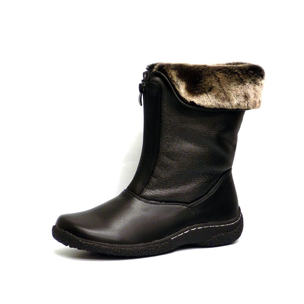 Wanderlust Gailee Womens Black Warm Lined Zip Up Weather Resistant Winter  Boots b3f833ceabda